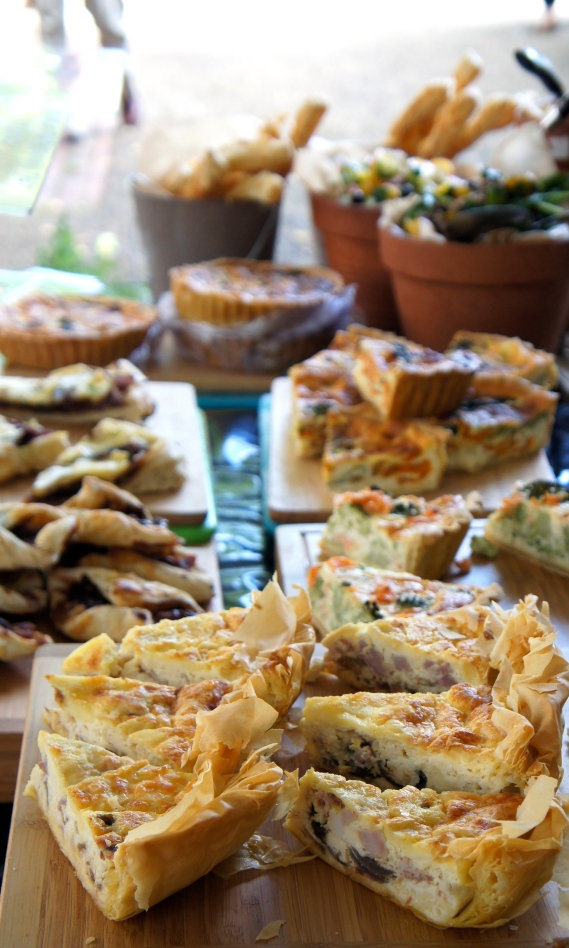 Delicious tarts and pastries
