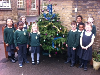 Bromley Road Christmas Tree donated by Christmas On The Green