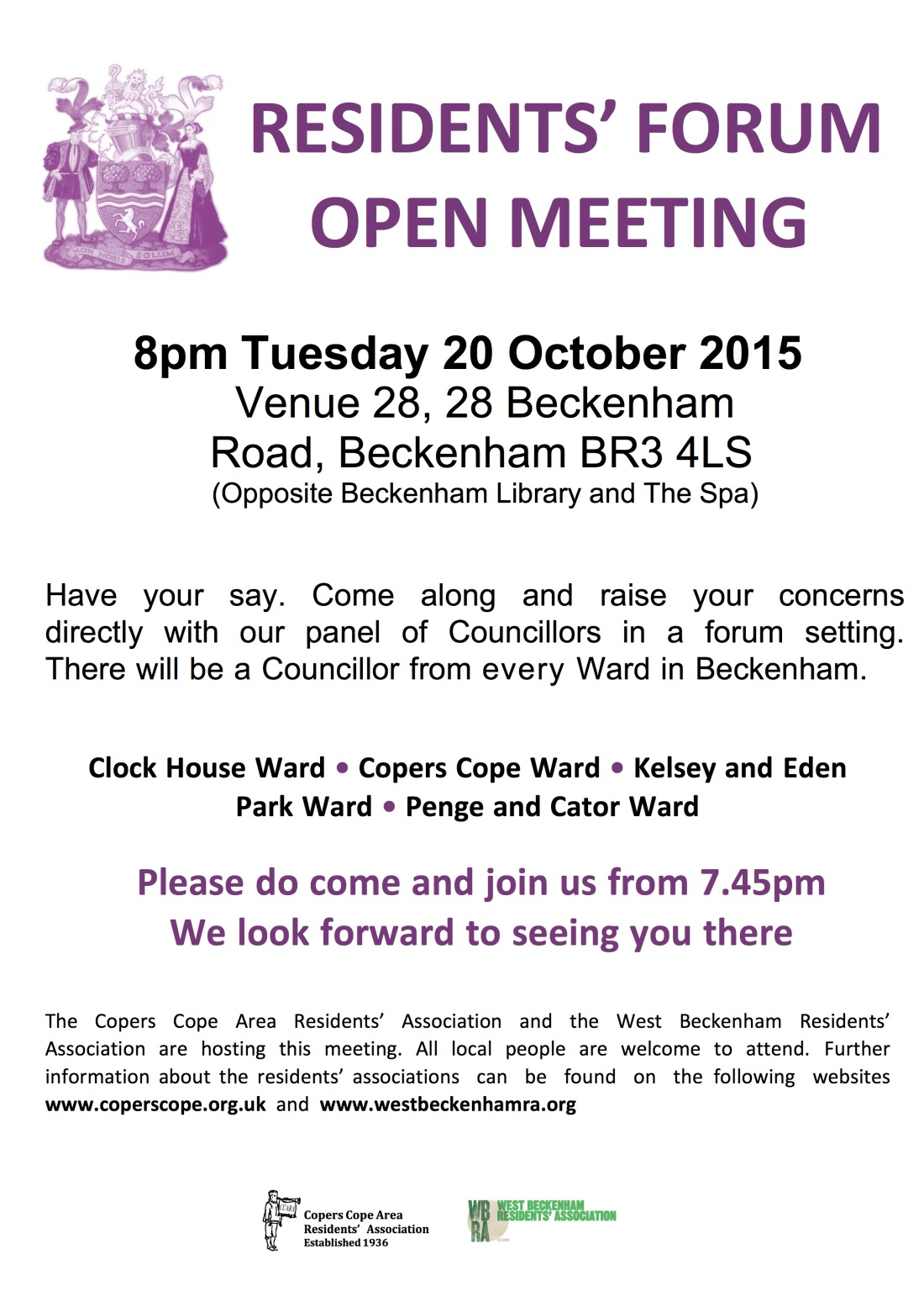 Microsoft Word - Joint west beck Residents Meeting word version
