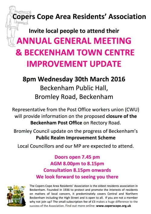 CCARA Residents Meeting mar 2016